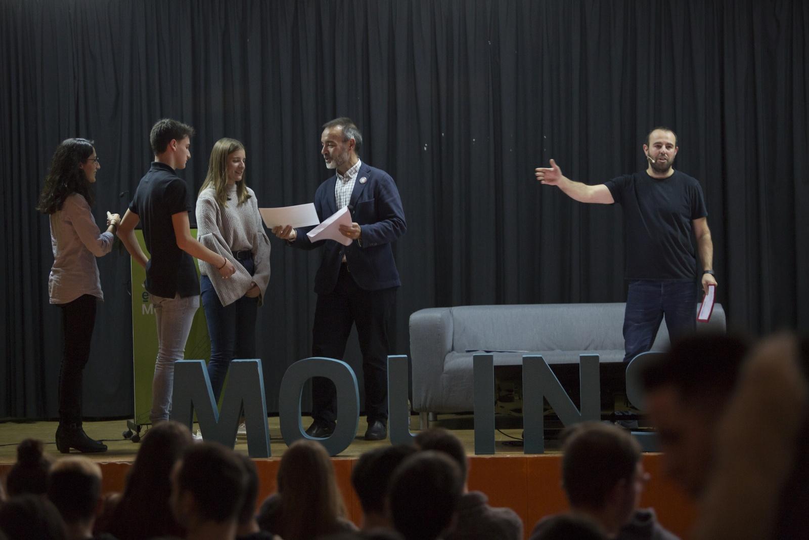 """El projecte """"NEL"""" guanya el 15è Concurs d'Idees Empresarials Innovadores"""